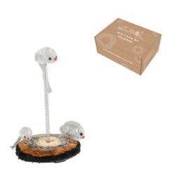 Orange85 Katten Speelgoed set met Muizen 26 cm