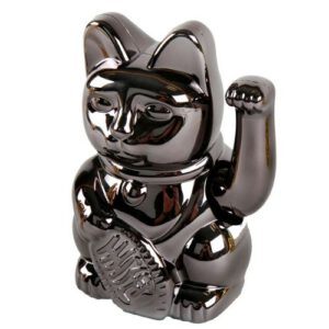 Orange85 Lucky Cat Maneki Neko zwart (6)