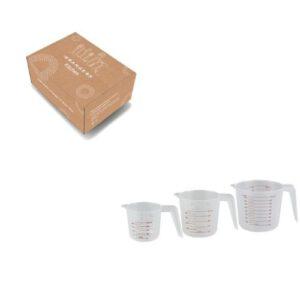 Orange85 Maatbeker Plastic 3 stuks (1)