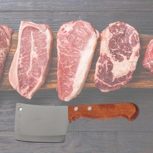 Orange85 Orange85 Hakmes voor vlees 14cm
