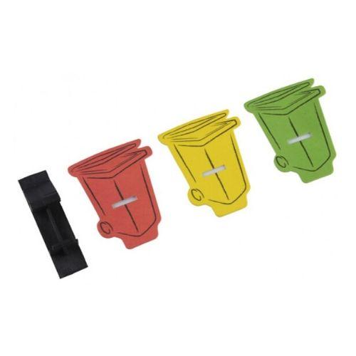 Orange85 Prullenbak Afvalbak Vuilbak Verfrisser 6 stuks