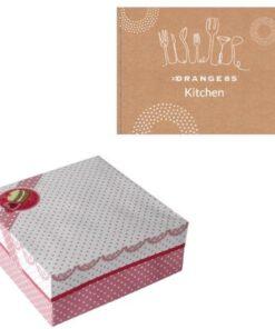 Orange85 Taartdoos bewaardoos Opbergdoos cadeau 3 stuks (1)