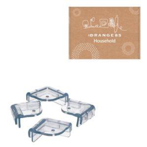 Orange85 Tafel Hoekbeschermers Transparant (2)
