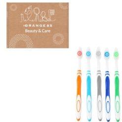 Orange85 Tandenborstels Pack Medium 5 stuks (1)