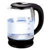 Orange85 Waterkoker zwart transparant 1,8 liter