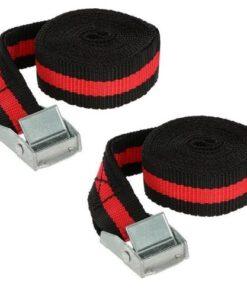 Benson Spanbanden Sjorband Zwart 2-delig