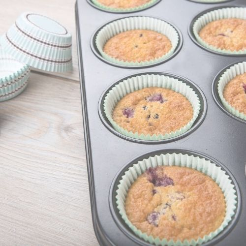 Orange85 Cupcake Bakvorm 6 Cakejes