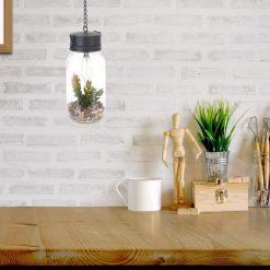 Hanglamp met plant sfeerbeeld