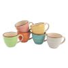 Orange85 Kopjes - Espresso - set van 6 - Aardewerk - Espresso kopjes - koffie - Kopje - Kopjesset5