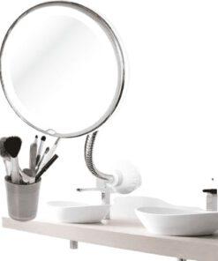 Orange85 Make-up Spiegel met Zuignap Wit