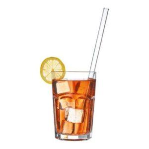 Orange85 Glazen Rietjes met Schoonmaakborstel 5 Delig Herbruikbaar