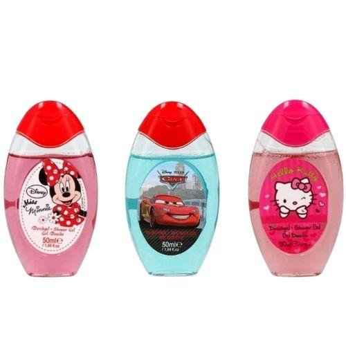 Disney Douchegel Cars Minnie Mouse Hello Kitty