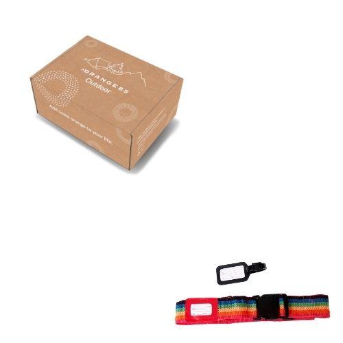 Orange85 Bagageriem met Kofferlabel en Tag Set van 2