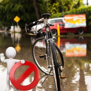 Orange85 Fietshoes voor 1 fiets Waterdicht