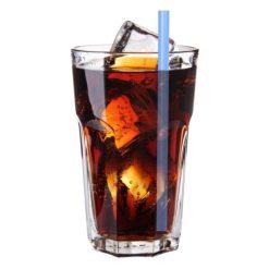 Orange85 Glazen Rietjes met Schoonmaakborstel 5-Delig Verschillende Kleuren