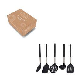 Orange85 Keuken Gerei Set van 5 Kookgerei Zwart