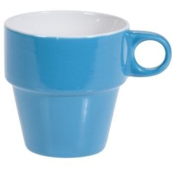 Orange85 Koffiekopjes met Houder Set van 6 Gekleurd 300 ml