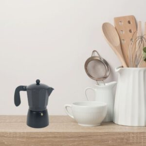 Orange85 Percolator Koffie 3 kops Zwart