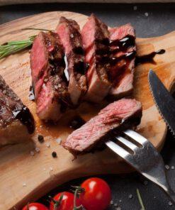 Orange85 Steakmessen 6 stuks RVS