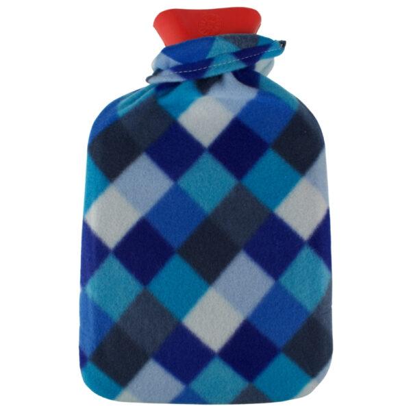 Orange85 Warmwaterkruik Kruikenzak 2 stuks Blauw en Wit