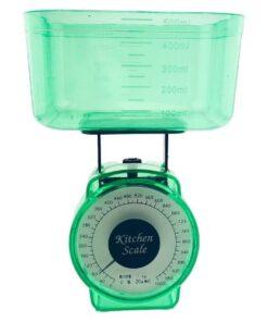 Orange85 Keukenweegschaal met Kom Groen Compact Analoge 1_voor