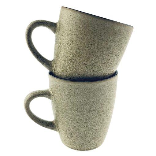 Koffiekopjes Beige vooraanzicht