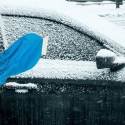 Orange85 Luxe Ijskrabber Auto Met Warme Handschoen Blauw