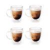 Orange85 Koffieglazen Dubbelwandig Glas met Oor 4 Stuks1_voor
