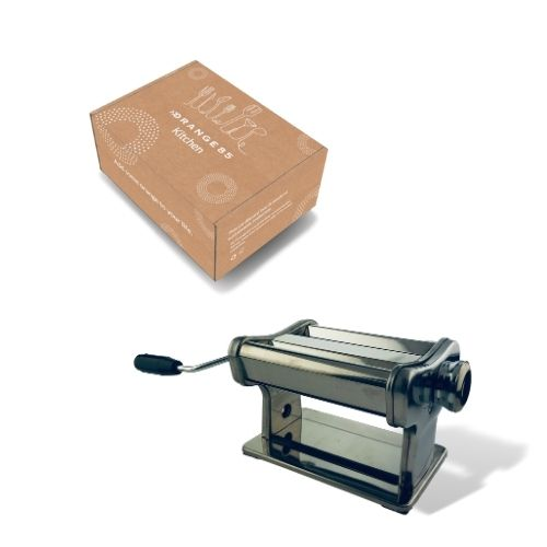Pastamachine RVS in verpakking