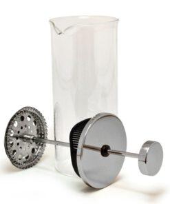 Orange85 Handmatige Melkopschuimer Glas RVS 1