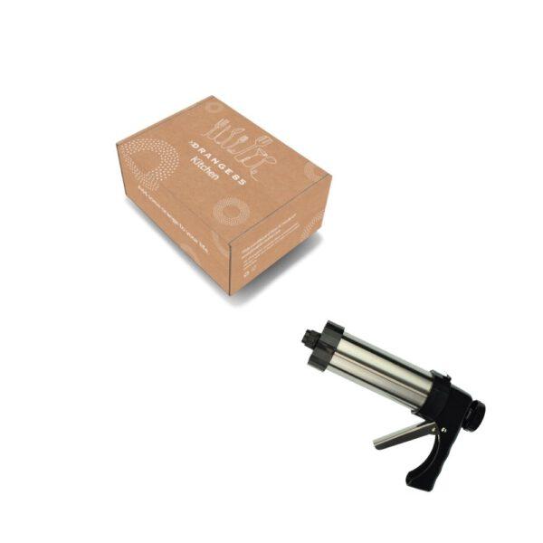 Excellent Houseware Garneerspuit RVS voor Decoratie_verpakking