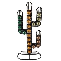 Orange85 Capsulehouder Cactusvorm Zwart 1