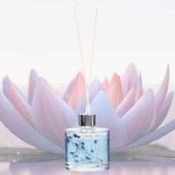 Orange85 Geurstokjes Blue Lotus 200ml Vintage Botanical 2_sfeer