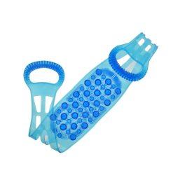 Orange85 Scrubband voor Rug Blauw Stretch 1_voor