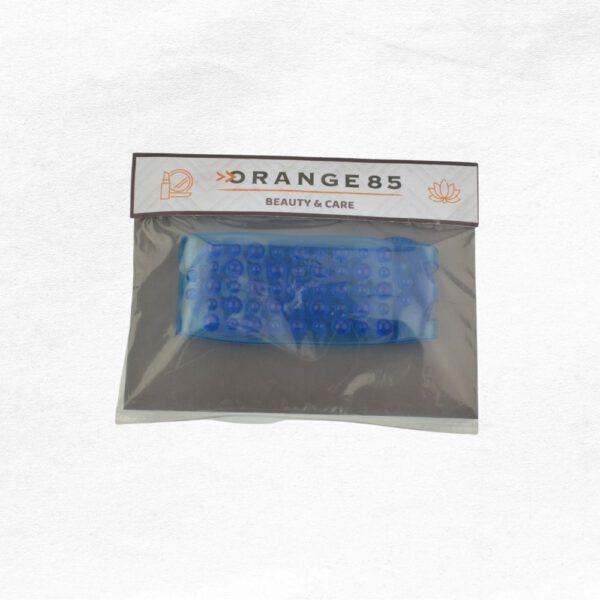 Orange85 Scrubband voor Rug Blauw Stretch 7_verpakking