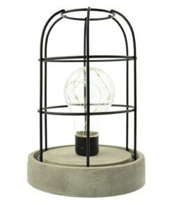 Orange85 Tafellamp met Betonlook en Metalen Frame 1_voor