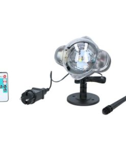 Grundig LED Projector Lamp Sneeuwvlokken_eerste