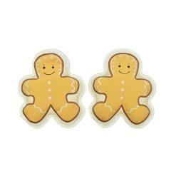 Orange85 Handwarmers Herbruikbaar Gingerbread Vorm 2 stuks 1_vooraanzicht