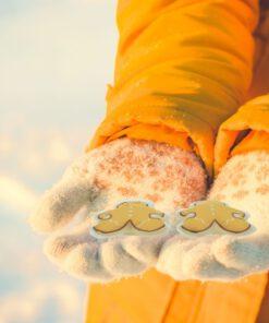 Orange85 Handwarmers Herbruikbaar Gingerbread Vorm 2 stuks 2_situatie