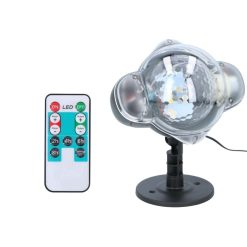 Grundig LED Projector Lamp Sneeuwvlokken_detail
