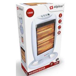 Alpina Heater 1200W Halogeen Roterend 3_verpakking