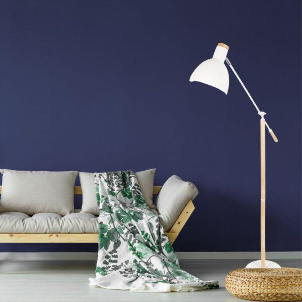 Grundig Vloerlamp Elegant 145 cm Wit Blanke Hout 2_situatie