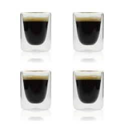 Orange85 Dubbelwandige Espresso Kopjes 10cl Set van 4 1_voor