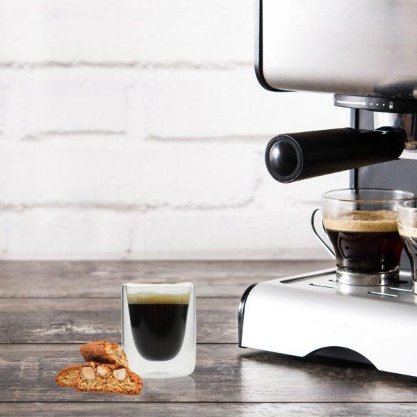 Orange85 Dubbelwandige Espresso Kopjes 10cl Set van 4 3_situatie