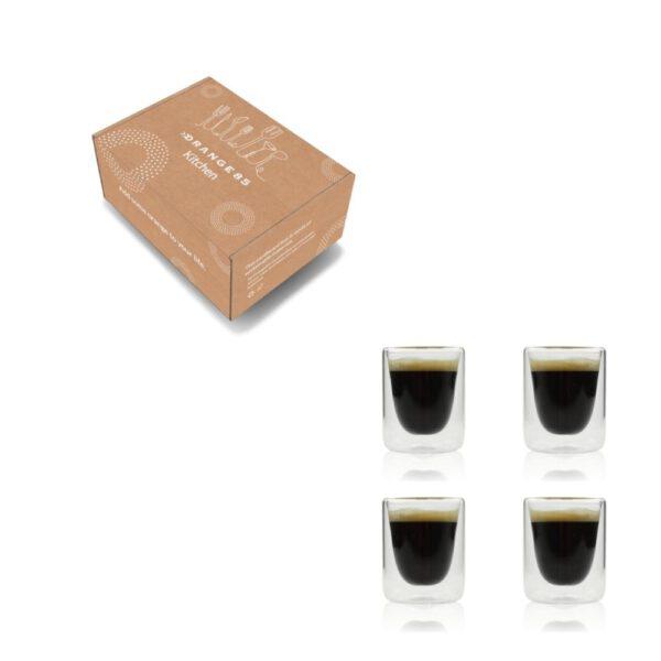 Orange85 Dubbelwandige Espresso Kopjes 10cl Set van 4 5_verpakking