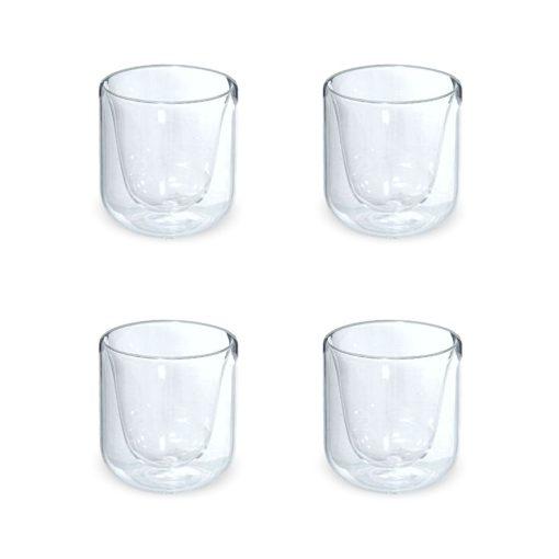 Dubbelwandige glazen 20cl vooraanzicht