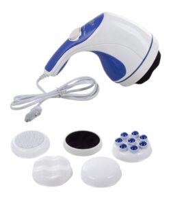 Orange85 Elektrische Massage Stimulator Roterend 4 Opzetstukken 1_voor