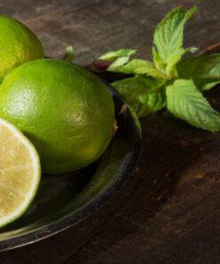 Orange85 Geurstokjes Fresh Lemon & Mint 100ml Groen 3_sfeer