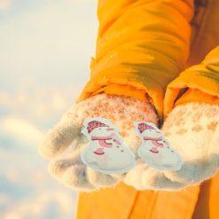 Orange85 Handwarmers Herbruikbaar Sneeuwpop Vorm stuks 2_situatie