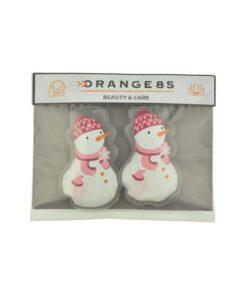Orange85 Handwarmers Herbruikbaar Sneeuwpop Vorm stuks 4_verpakking